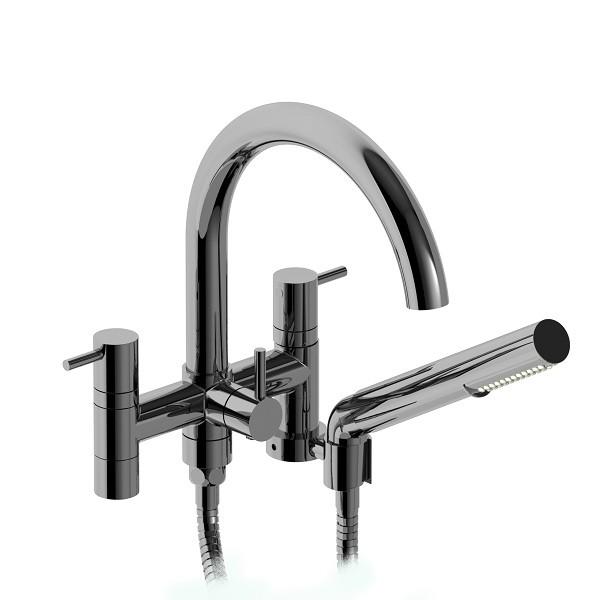 "Riobel CS 6"" tub faucet with hand shower- CS06C"