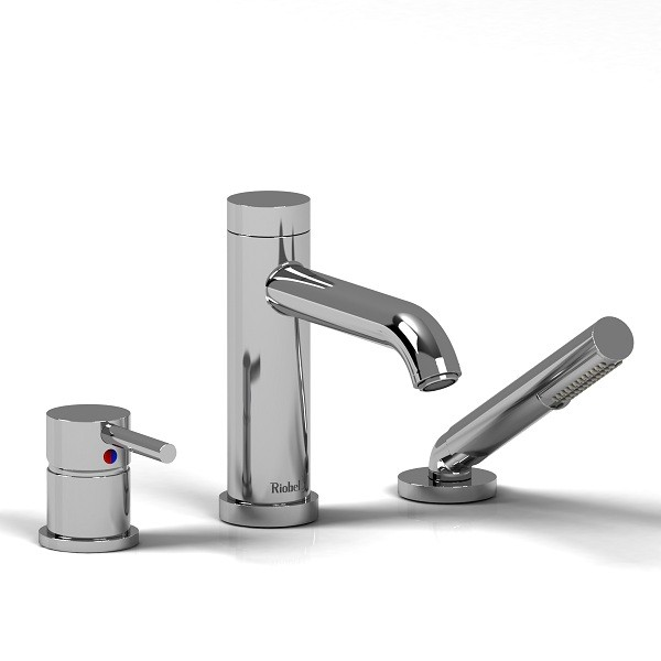Riobel CS 3-piece deck mount faucet- CS10C