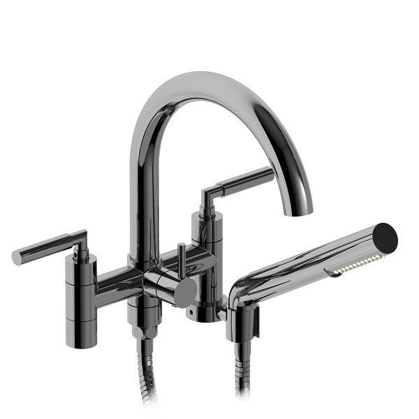 """Riobel Sylla 6"""" tub faucet with hand shower- SY06LC"""