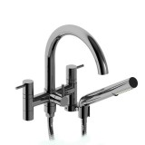 "Riobel CS 6"" tub faucet with hand shower- CS06C"