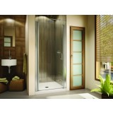 "Fleurco Banyo E2325-11-40-64 Sevilla 64""-high semi-frameless in-line pivot door"