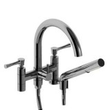 "Riobel Edge 6"" tub faucet with hand shower- ED06LC"