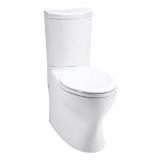 Persuade® Curv Comfort Height® two-piece elongated toilet- K-3723-0