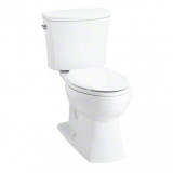 Kelston® Comfort Height® 2-piece Toilet with 1.28 GPF and Elongated Bowl- K-3755-0