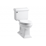 Memoirs® Comfort Height® two piece elongated 1.28 gpf toilet with Classic design - K-3816-0
