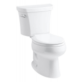 Wellworth® elongated 1.28 gpf toilet- K-3998