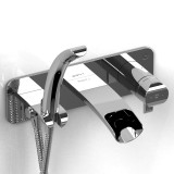 Riobel Wall mount tub faucet coaxial thermostatic pressure balance with hand shower SA07C