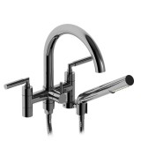 "Riobel Sylla 6"" tub faucet with hand shower- SY06LC"